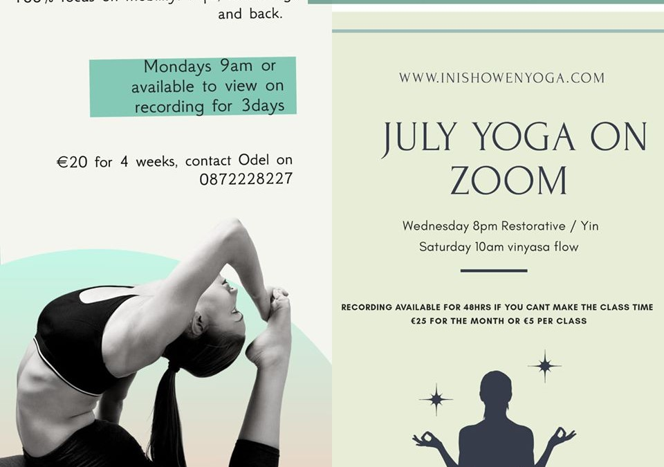 July Yoga Classes – Yoga for Mobility